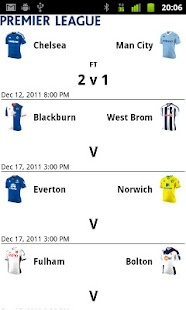 EPL Scores - screenshot thumbnail