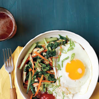 Vegetable Bibimbap.