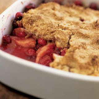 Cranberry-Apple Crisp