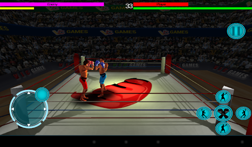 3D boxing game