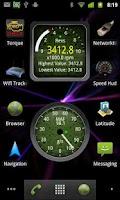 Screenshot of Widgets for Torque (OBD / Car)
