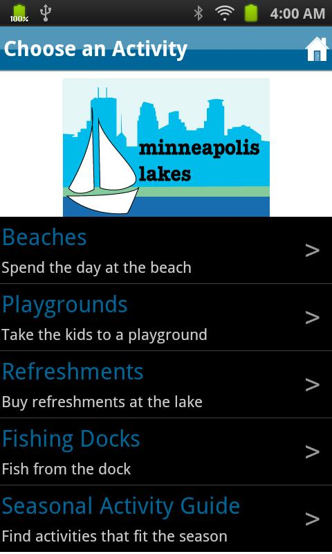 Minneapolis Lakes- screenshot
