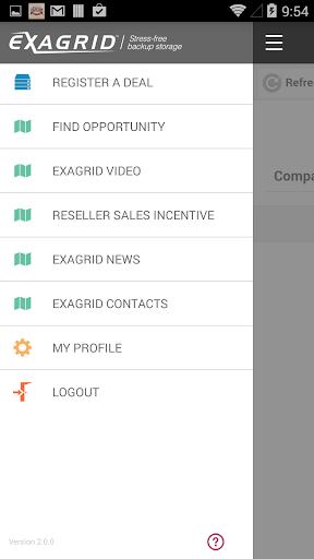 ExaGrid Partner App