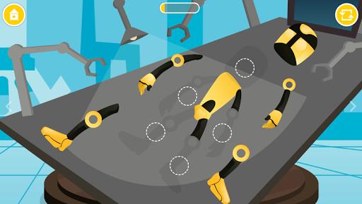 Secret Robot Lab - Kids Game