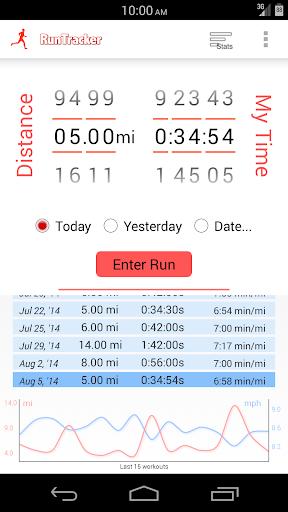 Simple Run Tracker