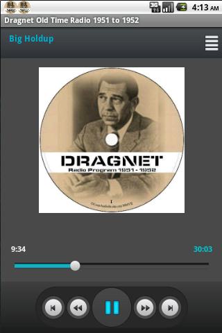 Dragnet Old Time Radio 1951-52