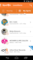 Screenshot of SpotOn Mobile
