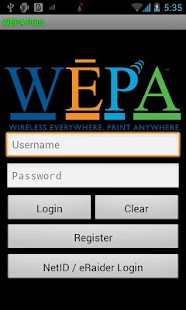 WEPA Print App - screenshot thumbnail