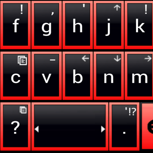 THEME AI TYPE BLACK RED GLASS file APK Free for PC, smart TV Download