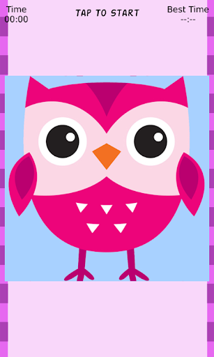Tiny Cute Owl Sliding Puzzle