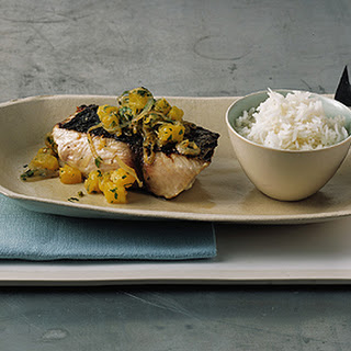 Grilled Mahimahi with Pineapple Sambal
