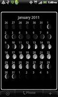 Screenshot of Moon Phase Widget Free