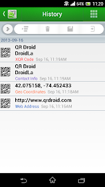 QR Droid Code Scanner Screenshot 4