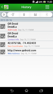 QR Droid Code Scanner - screenshot thumbnail