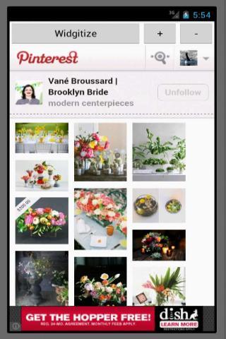 PWidget for Pinterest