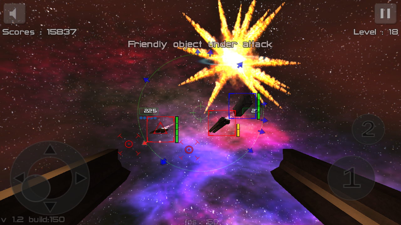 Gunner FreeSpace Defender Lite- screenshot