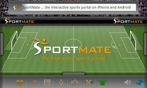 Football Scores Interactive - screenshot thumbnail