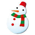 Snowman Battery Widget logo