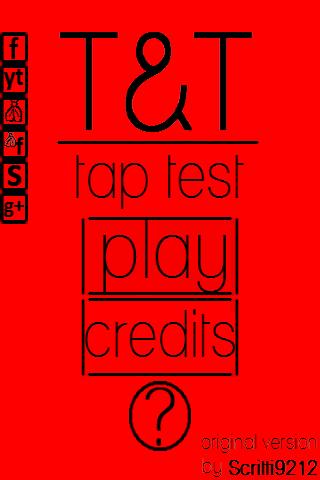Tap Test