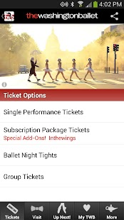 The Washington Ballet- screenshot thumbnail