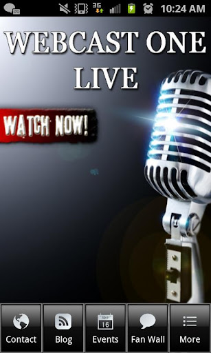 【免費媒體與影片App】Webcast One Live-APP點子