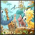 Tierkleinkind für Kinder icon
