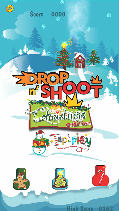 Drop n' Shoot - Xmas Edition- screenshot