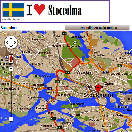Stockolm map