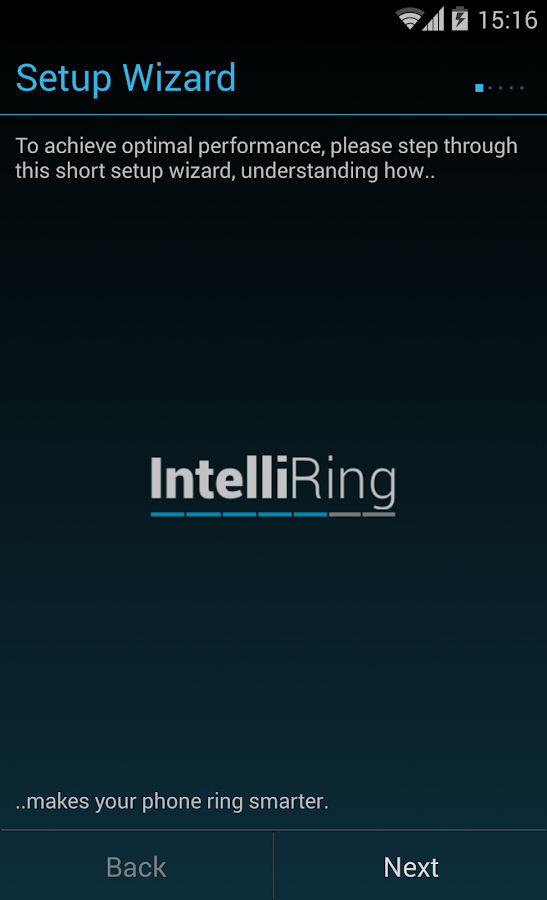 IntelliRing- screenshot
