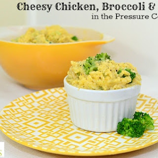 Cheesy Chicken, Broccoli and Rice