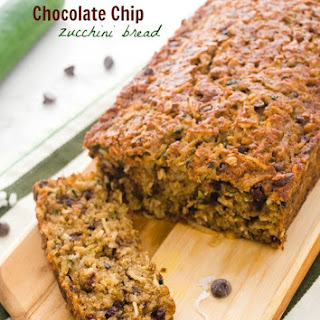 Oatmeal Coconut Chocolate Chip Zucchini Bread