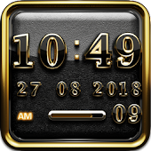 Golden Knight Digital Clock