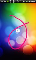 Screenshot of GestureLocker