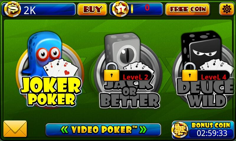 Video Poker™-Poker Casino Game screenshots