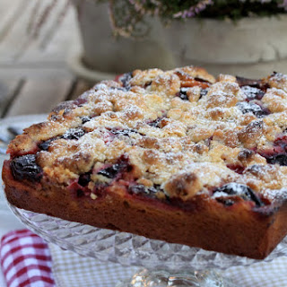 Sunday Plum Cake