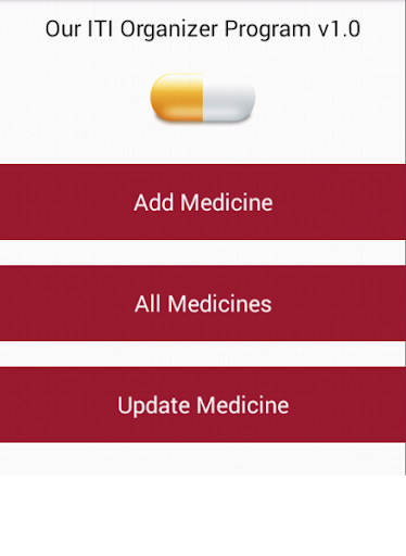 Medicine Organizer