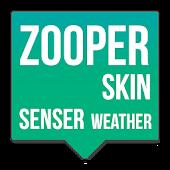 SenseR Weather Zooper skin