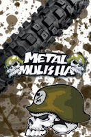 Screenshot of GO SMS PRO Metal Mulisha Theme