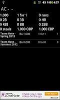Screenshot of Softball Stats Pro