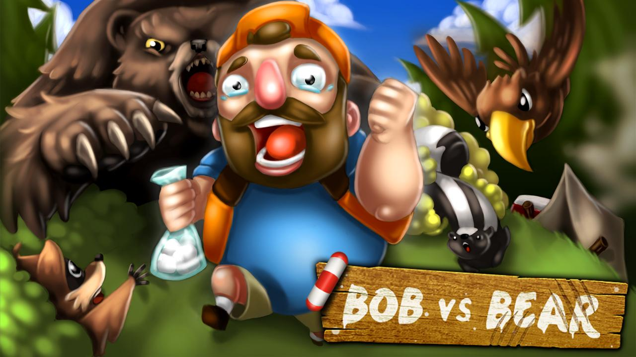 Bob vs Bear - Fun Runner Game! - screenshot