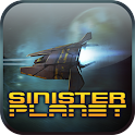 Sinister Planet – Asteroids logo