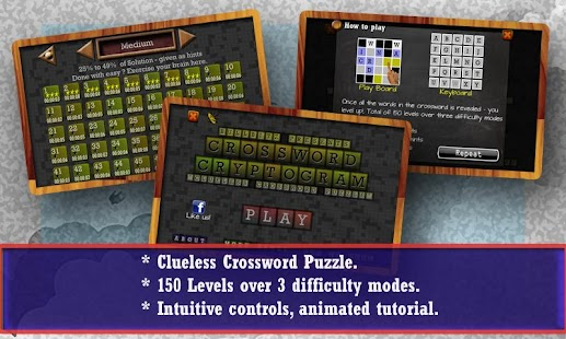 CROSSWORD CRYPTOGRAM - Puzzle- screenshot thumbnail