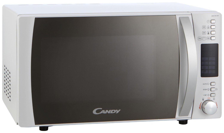 Microondas Candy Cmg25Dcw de 25L, Grill, pantalla electrónica LED y 8 programas de cocción automáticos que te permitirá conseguir comidas crujientes y doradas