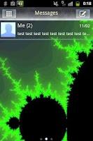 Screenshot of GO SMS PRO Theme - Fractal