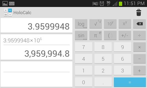 HoloCalc Scientific Calculator