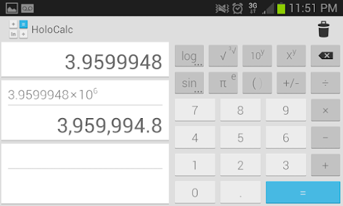 HoloCalc Scientific Calculator v2.0.3