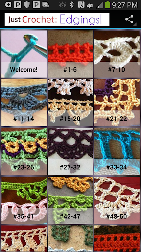 Just Crochet: Edgings