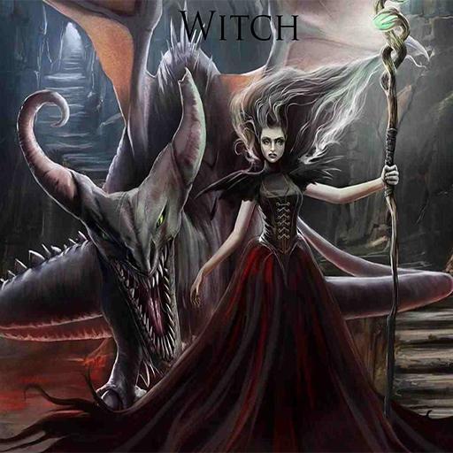 女巫壁紙 LOGO-APP點子