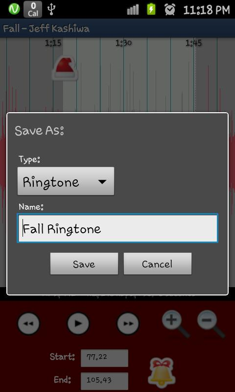 RINGME xMAS Ringtone Maker- screenshot