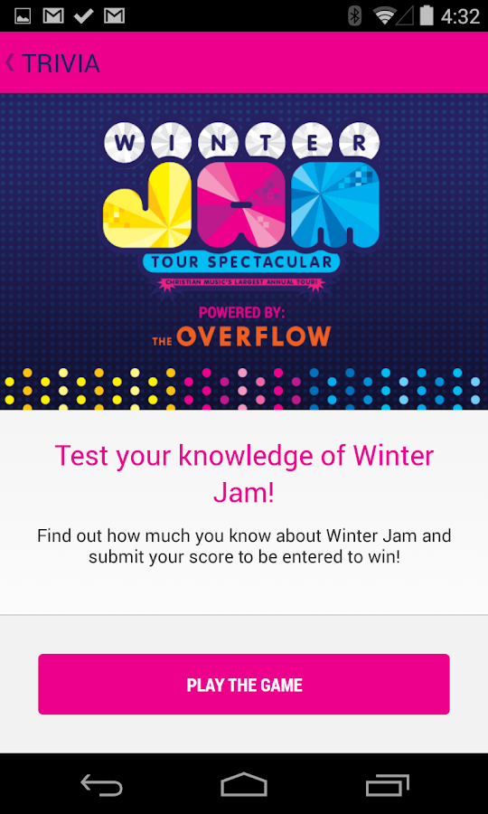 Winter Jam - screenshot